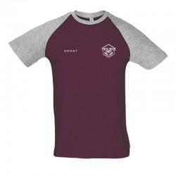 T-shirt bicolore ENSAT - Homme