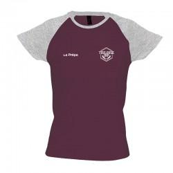 T-shirt bicolore La Prépa...