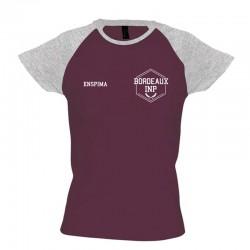 T-shirt bicolore ENSPIMA -...